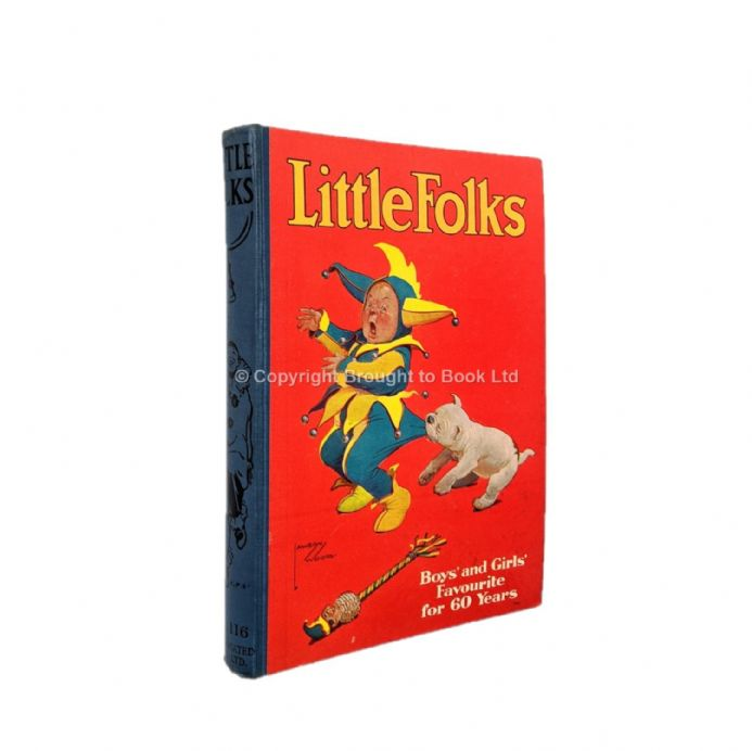 Little Folks Vol 116 Illustrated by Thomas Henry The Amalgamated Press c.1932